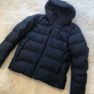 NWOT Uniqlo navy men extra warm puffer size small